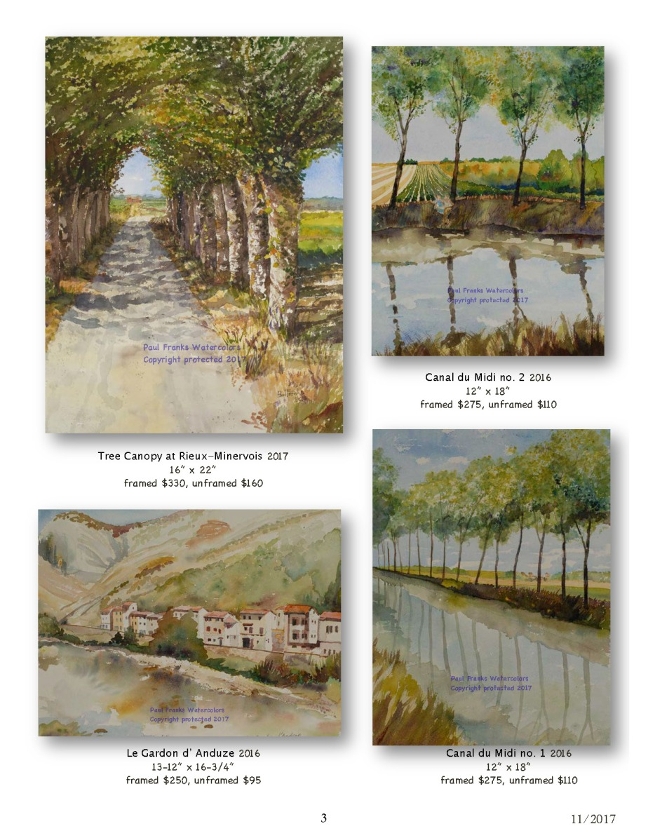 Paul Franks Watercolor Catalog-2 French Landscapes_Page_3