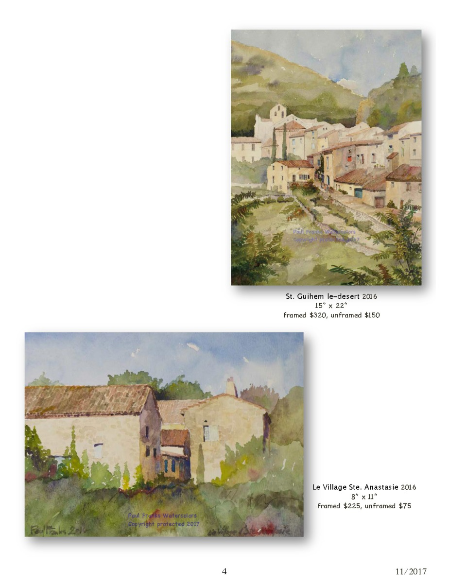 Paul Franks Watercolor Catalog-2 French Landscapes_Page_4