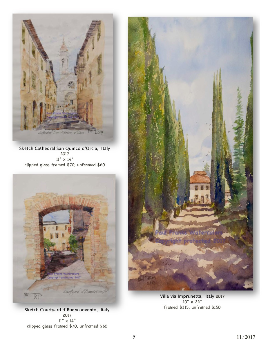 Paul Franks Watercolor Catalog-4 Italian Village_Landscapes_Page_5
