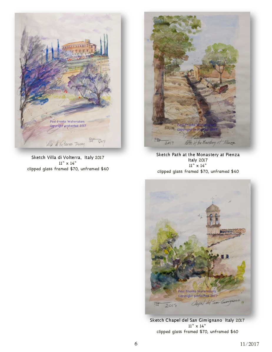 Paul Franks Watercolor Catalog-4 Italian Village_Landscapes_Page_6