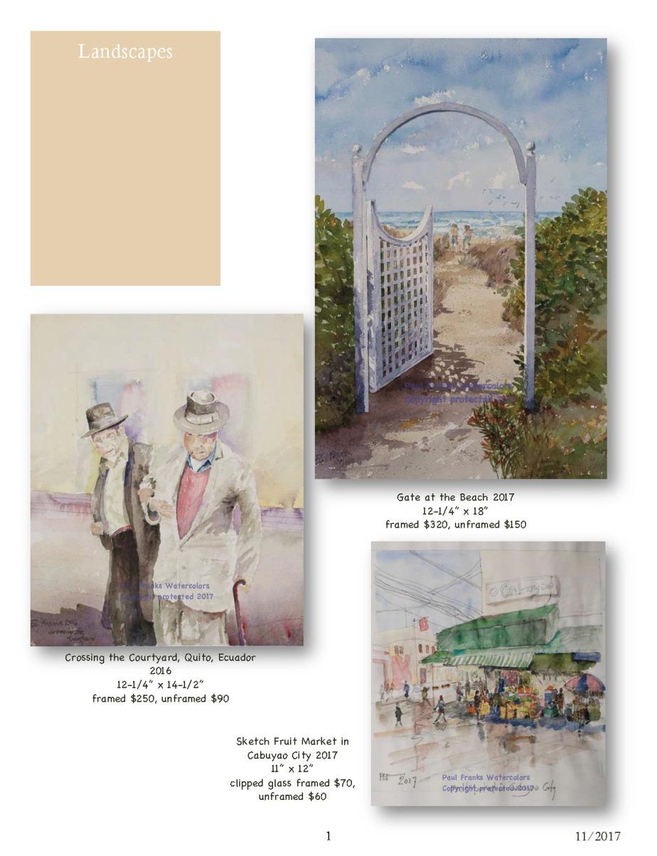 Paul Franks Watercolor Catalog-5 Landscapes_Page_1